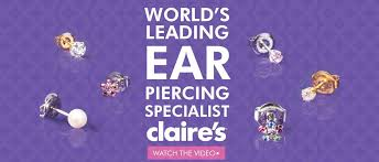 claires gift card s ear piercing gift card to get ears pierced s