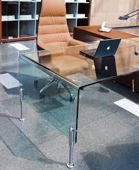 bureau metal et verre bureau en métal en verre contemporain professionnel prima