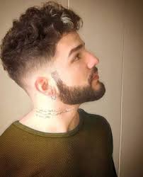 curly shaved side hair curly hair shaved side men with regard to inspire my salon