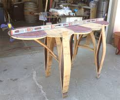 Wine Barrel Bar Table New Wine Barrel Pub Table Bar Woodworking Talk Woodworkers Forum