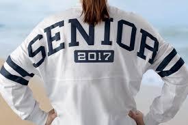 high school senior apparel senior excitement not what it has been inflight