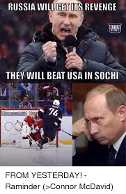 Sochi Meme - russia will get its revenge memes they will beat usa in sochi from