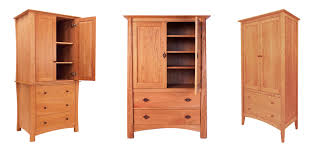 Shaker Bedroom Furniture Shaker Armoires Vermont Woods Studios