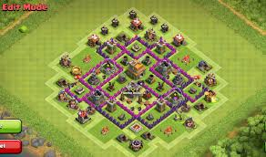 Clash Of Clans Maps Best Base For Town Hall 7 Clash Of Clans Th7 Coc Best Base