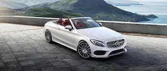 white mercedes convertible c class luxury performance cabriolet mercedes