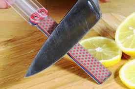 Spyderco Sharpmaker Kitchen Knives Dmt Knife Sharpener Model Diafold Double Sided Knife