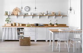 meubles cuisine meuble cuisine scandinave le bois chez vous