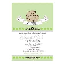 our sweet cookie baby shower invitation wants and wishes