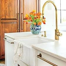Polished Brass Kitchen Faucet Excellent Unlacquered Brass Kitchen Faucet Brass Faucets Fixtures