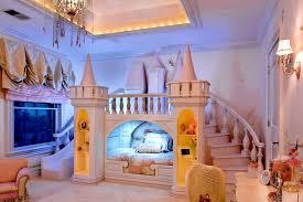 wonderful fun kids castle shaped themed bed ideas furniture
