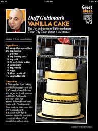 cake directions duff goldman s vanilla cake recipe cakes vanilla