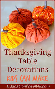 table decorations can make