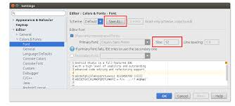 android default font how to increase the font size in android studio stack overflow