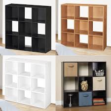 Bookcase Storage Units 9 Cube Storage Unit Homcom Cube Bookcase Storage Shelf
