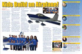 kids build an airplane the bunk room a magazine written