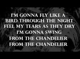 Sia Chandelier Lyrics Youtube Sia Chandelier Paroles Lyrics Youtube