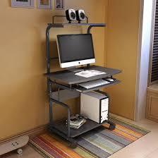 Mini Computer Desk China Simple Style Mini Deck Computer Desk With Led Light