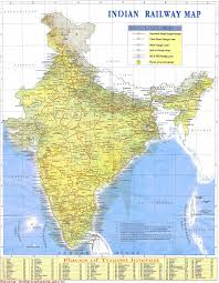 Indian Map Download All India Railways Map Book Rail Ticket India