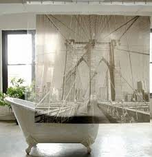 ideas for bathroom curtains shower curtains imprinted with world destinations