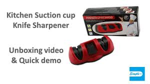 manual knife sharpener best knife sharpener for kitchen with a