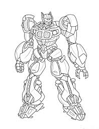 transformers clipart coloring page pencil and in color