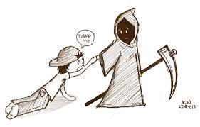 grim reaper by bluhdy hell on deviantart