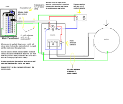 wiring diagram compressor wiring diagram single phase compressor