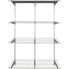 heavy duty wall mounted wire shelving diy heavy duty bracketfree