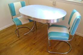 Diner Style Kitchen Table by 50s Style Kitchen Table Ohio Trm Furniture