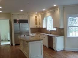 kitchen small kitchen design with cream kitchen cabinets and