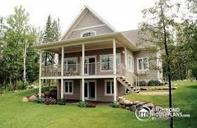 front sloping lot house plans modest ideas sloping lot house plans and hillside designs from