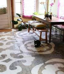 sneak peek best of patterned floors design sponge