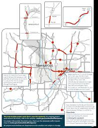 Mn Dot Traffic Map I 94 St Paul Shutdown Tops Twin Cities Weekend Road Woes