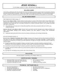 billing resume exles sle resume for billing specialist exles top 10