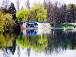 karlovac spring reflection on korana river mapio net