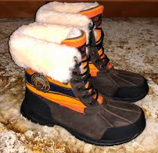 uggs womens boots on ebay ugg australia butte pendleton grand grizzly brown boots
