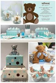 teddy themed baby shower teddy themed baby shower decorations baby showers ideas