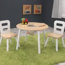 Kids Table And Chairs With Storage Home Design Marvelous Kids Round Table And Chair Set White Home
