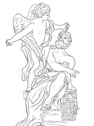 angel color pages habakkuk and the angel coloring page free printable coloring pages