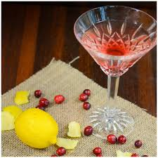 martini holiday cranberry limoncello martini a healthy life for me