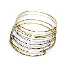 bangle bracelet diy images 100pcs lot 64mm adult size alloy jewelry diy bangle adjustable jpg