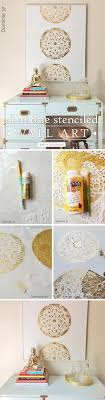 bathroom wall stencil ideas 25 stunning diy wall ideas tutorials for creative juice