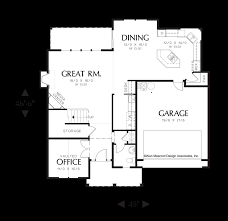 colonial plans mascord house plan 22152a the morgan