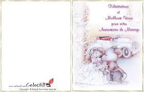carte mariage ã imprimer carte anniversaire à imprimer gratuite