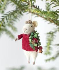 yuletide mice ornaments churchmouse yarns teas