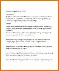 9 resignation letter for relocation bibliography apa