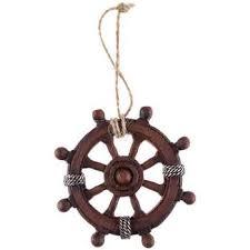 brown ship s wheel ornament hobby lobby 1137355
