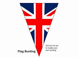 bunting powerpoint template my 30th pinterest buntings