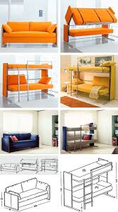 sofa becomes bunk bed space saving beds bedrooms