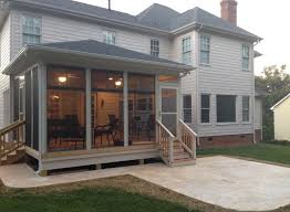 Porch Roof Plans Free Screened Porch Building Plans
